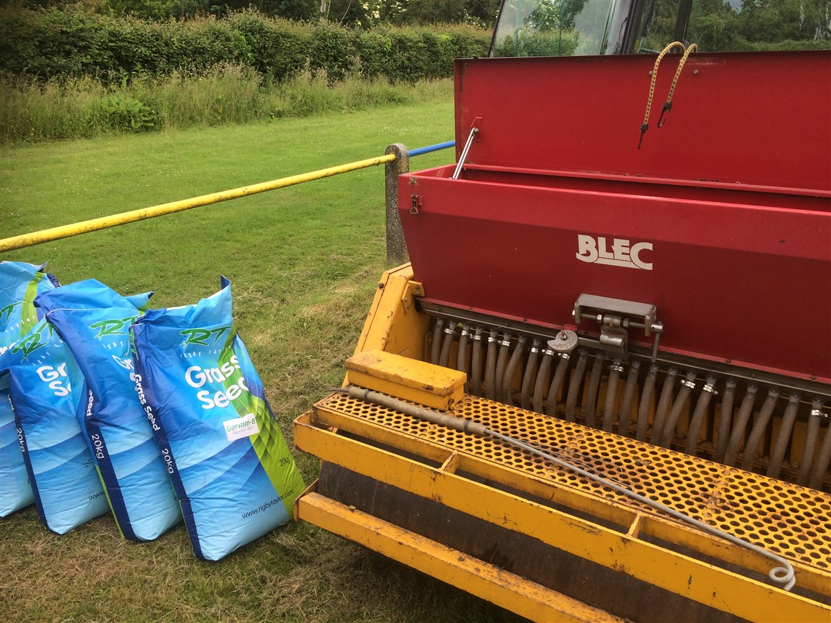 Top Dressing and Overseeding
