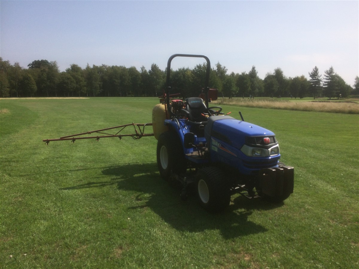 Fertilising and Herbicide Application