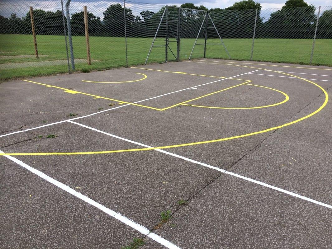 Netball Court Lines